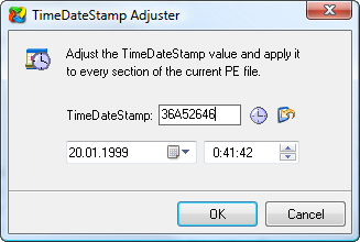 TimeDateStamp Adjuster